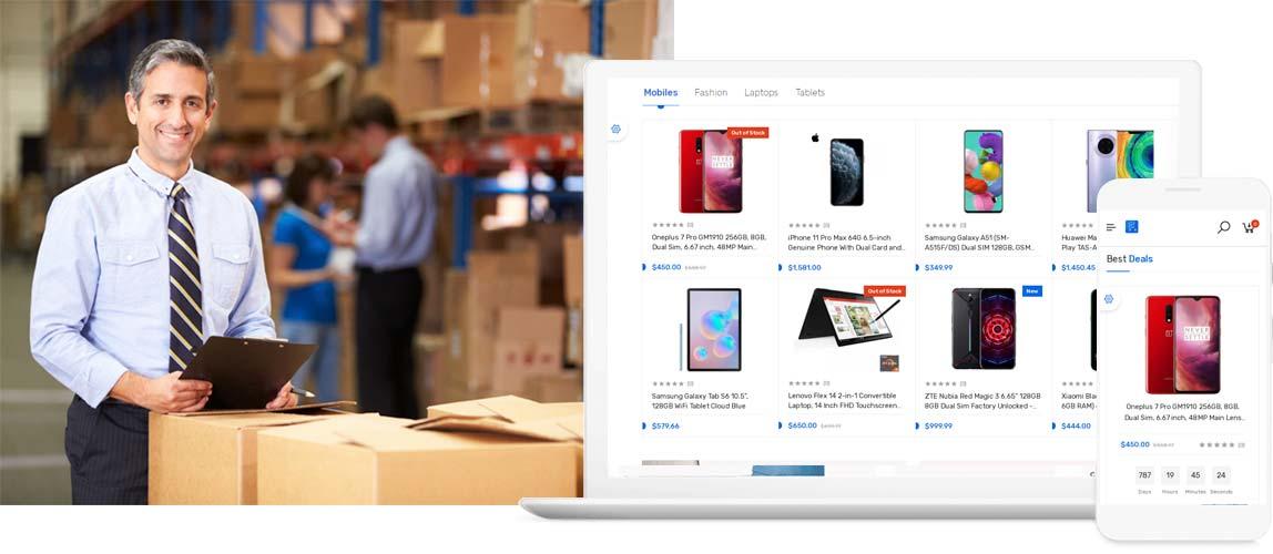 Desarrollo de tienda online ecommerce